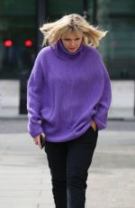 KATE THORNTON Arrives at Radio 2 Studios in London 05/06/2017