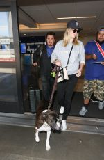 KATE UPTON at Los Angeles International Airport 05/03/2017