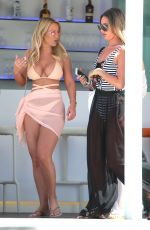 KATE WRIGHT in Bkini on Vacation in Ibiza 05/26/2017