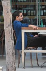 KATHARINE MCPHEE and Elyes Gabel Out for Lunch in Beverly Hills 05/08/2017