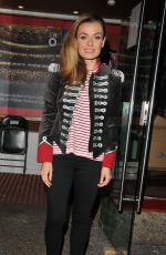 KATHERINE JEKNKINS at Carousel Theatre Cast Departures in London 05/11/2017