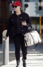 KATHERINE LANGFORD Arrives at Perth Airport 05/16/2017