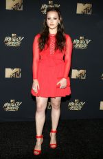 KATHERINE LANGFORD at 2017 MTV Movie & TV Awards in Los Angeles 05/07/2017