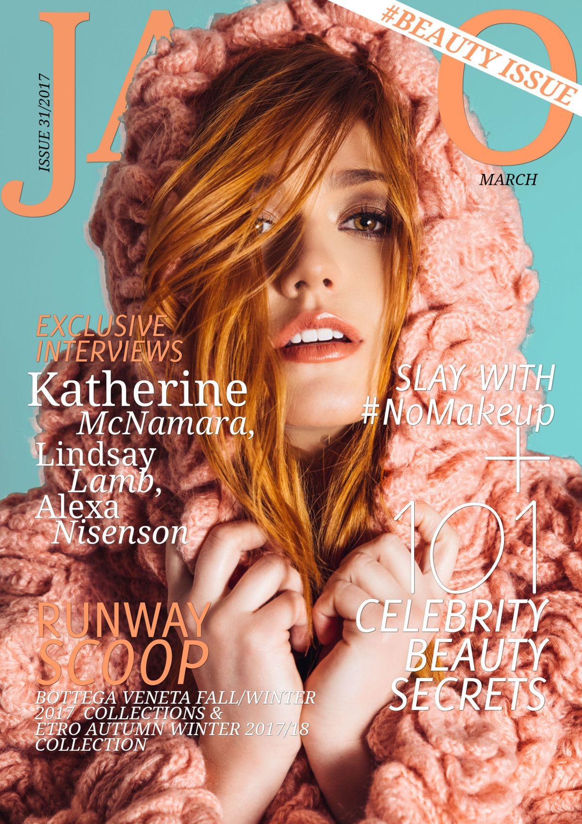 KATHERINE MCNAMARA for Jamo Magazine, March 2017