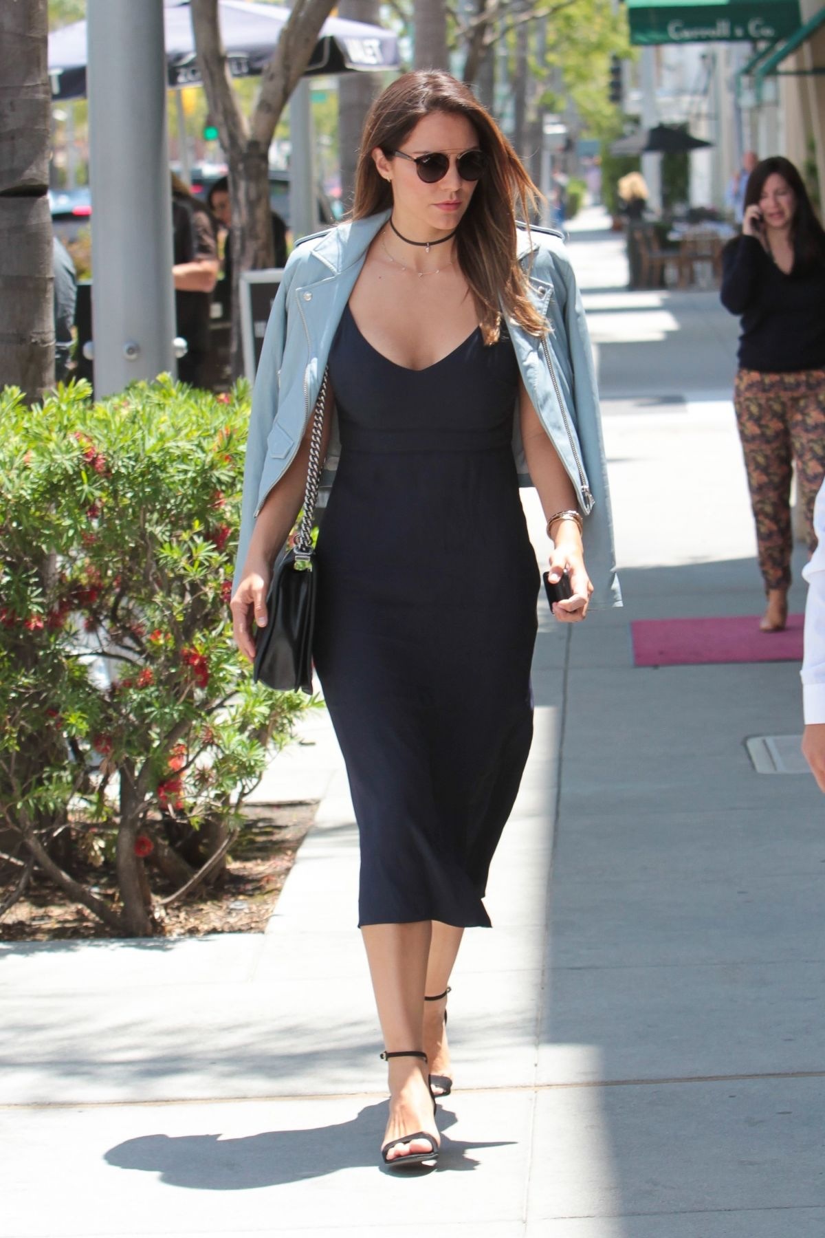 KATHERINE MCPHEE in Tight Dress Out in Beverly Hills 05/08/2017
