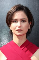 KATHERINE WATERSTON at Ridley Scott Hand and Footprint Ceremony in Hollywood 05/17/2017