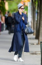 KATHERINE WATERSTON Out and About in New York 05/08/2017