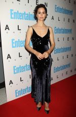 KATHERINE WATERSTONE at Entertainment Weekly Hosts a Special Screening of Alien: Covenant in New York 05/15/2017