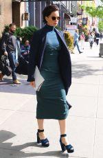 KATHERINE WATERSTONE Leaves Bowery Hotel in New York 05/08/2017