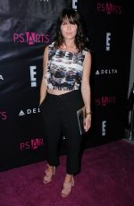 KATIE ASELTON at P.S. Arts Party in Hollywood 05/04/2017