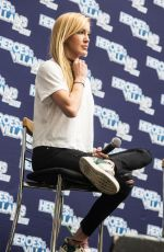 KATIE CASSIDY at Heroes & Villains Fan Fest in London, May 2017