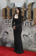 KATIE MCGRATH at King Arthur: Legend of the Sword Premiere in London 05/10/2017