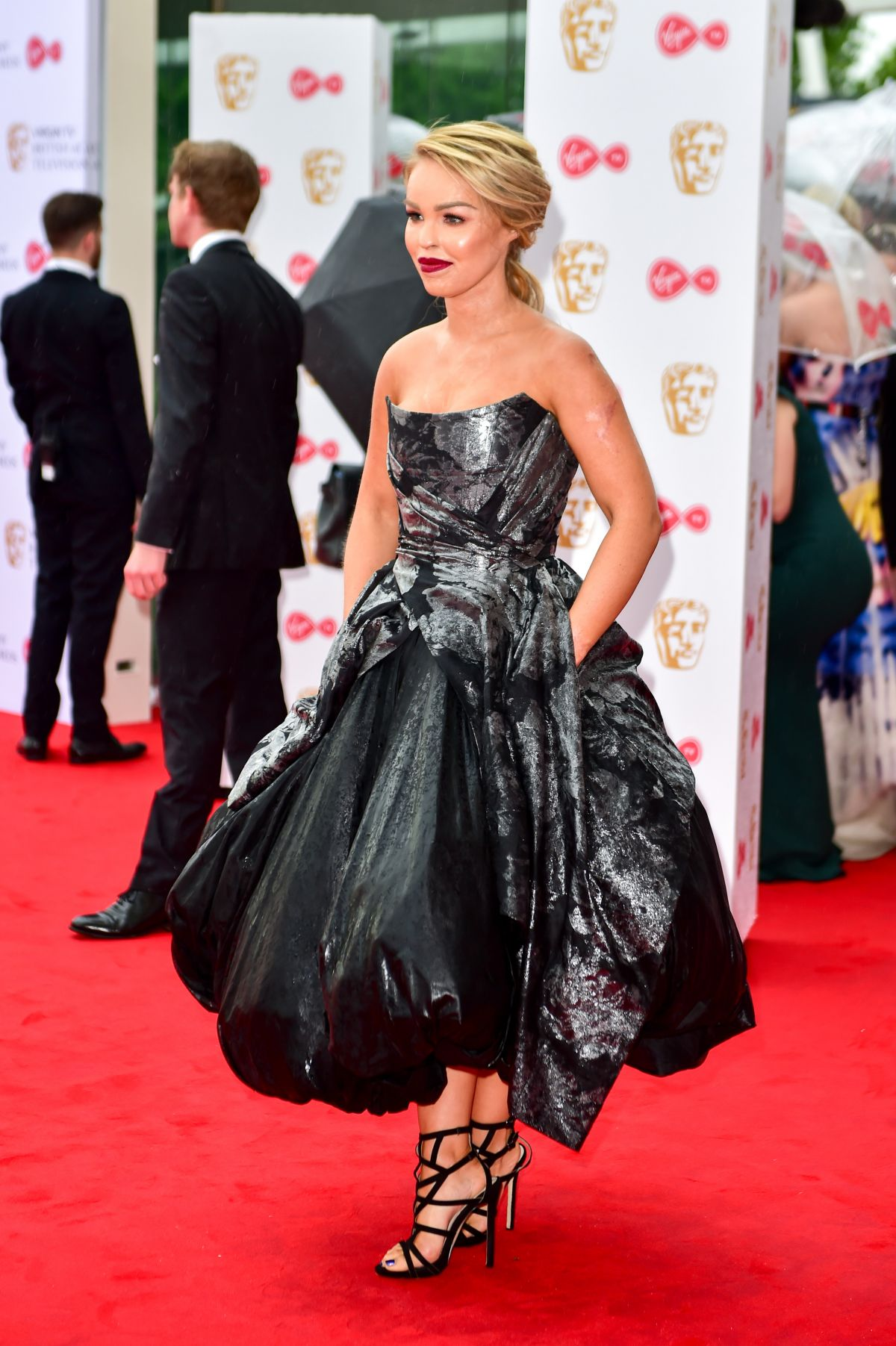 KATIE PIPER At 2017 British Academy Television Awards In