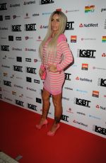KATIE PRICE at British LGBT Awards in London 05/12/2017