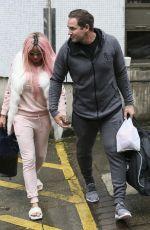 KATIE PRICE Leaves ITV Studios in London 05/17/2017