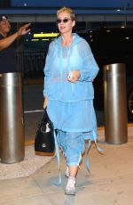KATY PERRY Arrives at JFK Airport in New York 05/23/2017