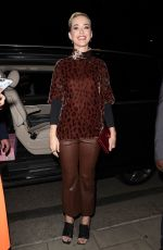 KATY PERRY at China Tang Restaurant in London 05/24/2017