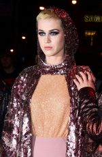 KATY PERRY at MET Gala After Party in New York 05/01/2017