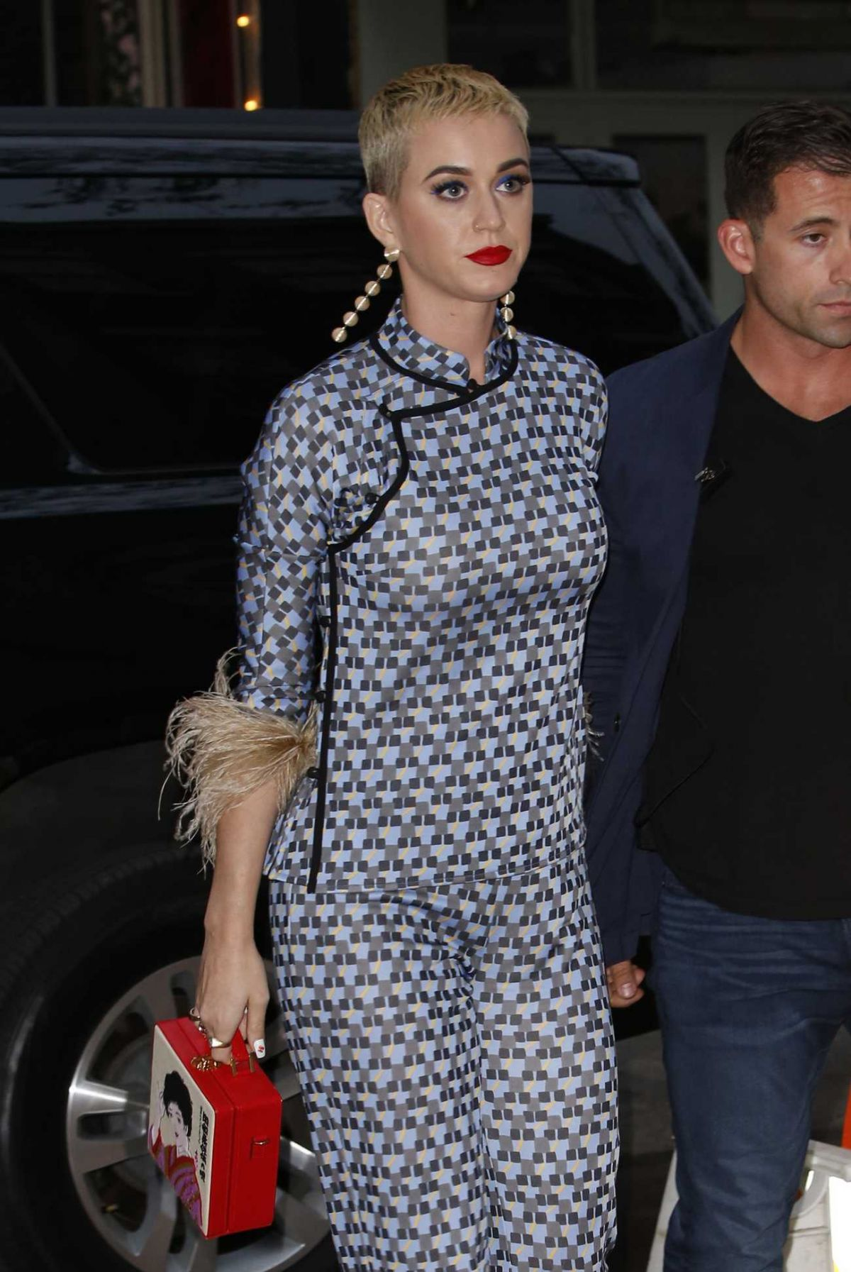 KATY PERRY at Pre-met Gala Dinner Hosted by Anna Wintour in New York 04/30/2017