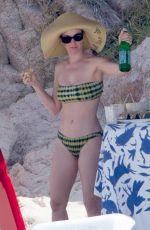 KATY PERRY in Bikini on the Beach in Cabo San Lucas 05/09/2017