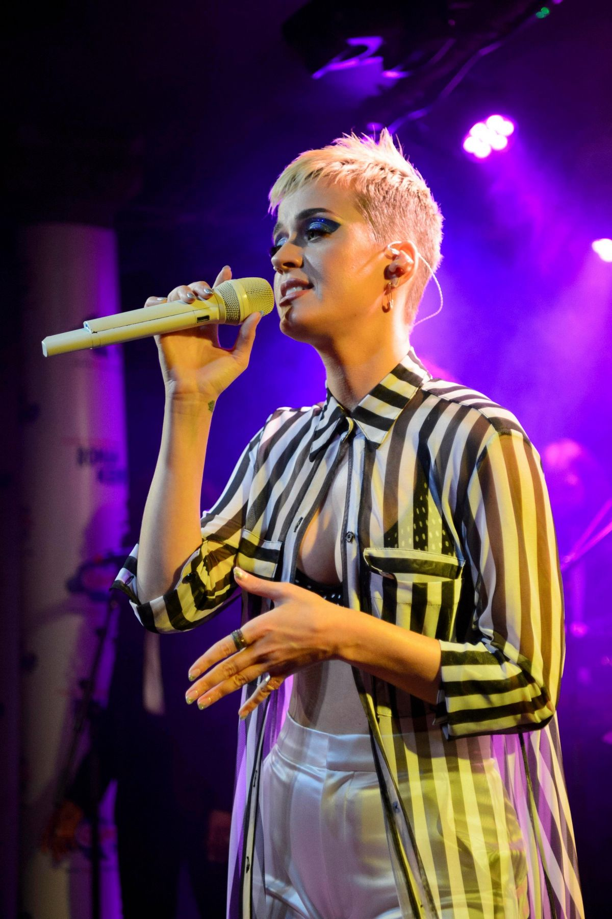 KATY PERRY Performs at The Water Rats in London 05/25/2017