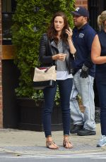 KAYA SCODELARAIO Out and About in New York 05/24/2017
