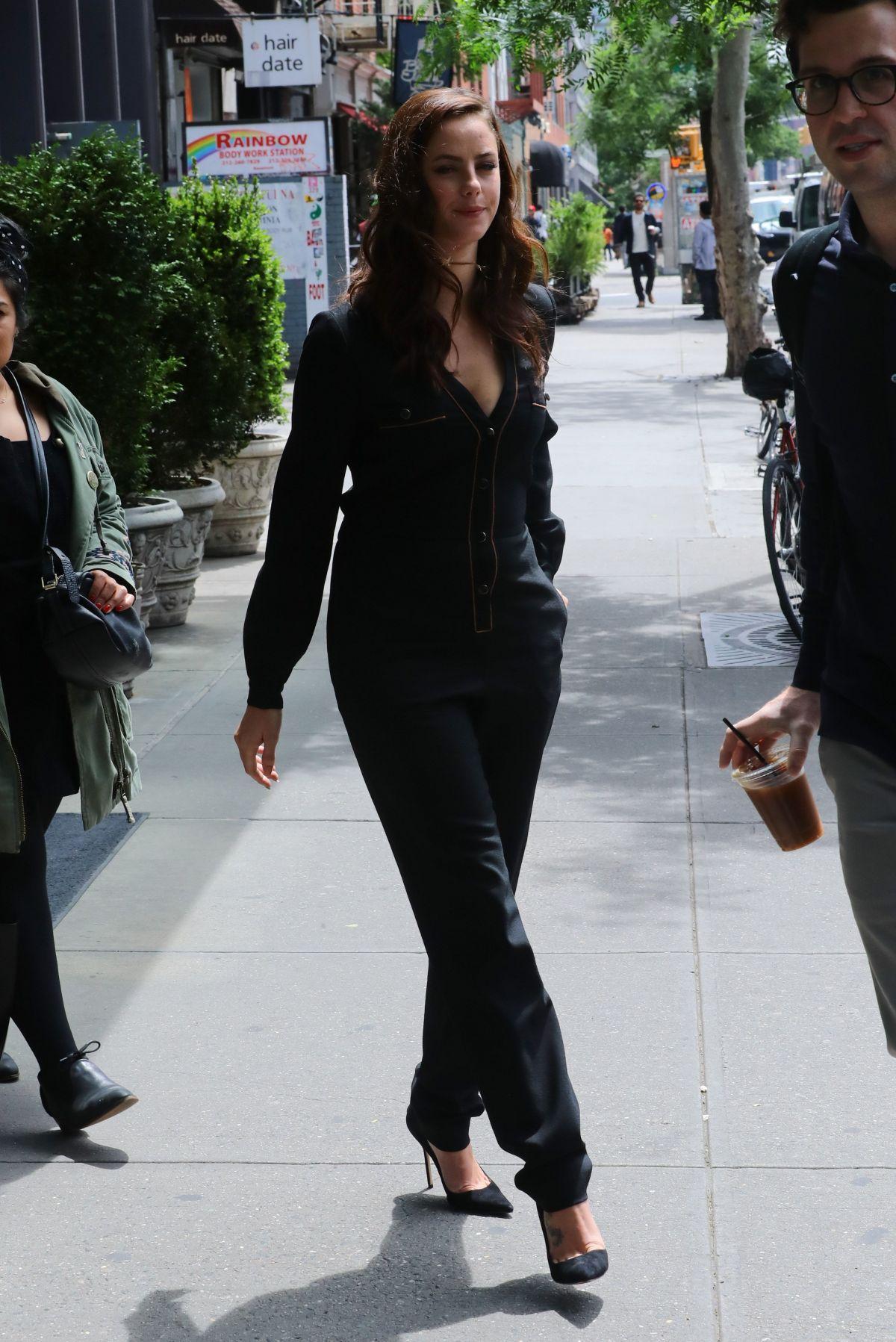 KAYA SCODELARIO Leaves Bowery Hotel in New York 05/24/2017