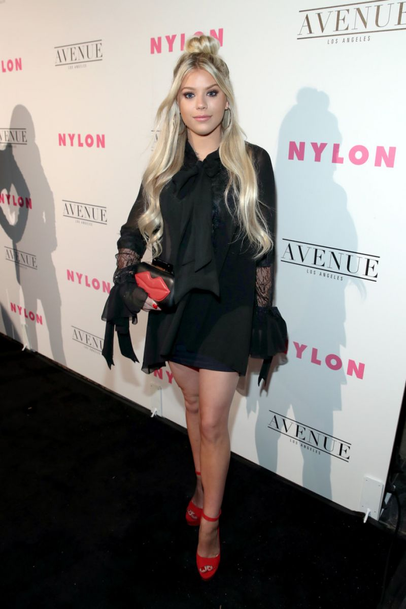 KAYLYN SLEVIN at Nylon Young Hollywood May Issue Party in Los Angeles 05/02/2017