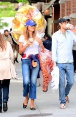 KELLY BENSIMON Out in New York 05/06/2017
