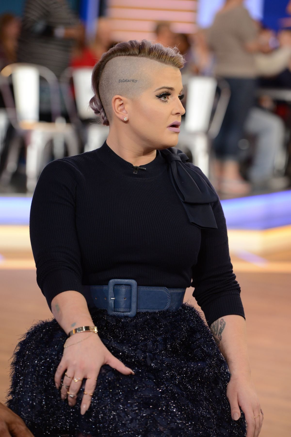 Kelly Osbourne Hair 2017