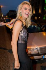 KELLY ROHRBACH Arrives at Borchardt Restaurant in Berlin 05/30/2017