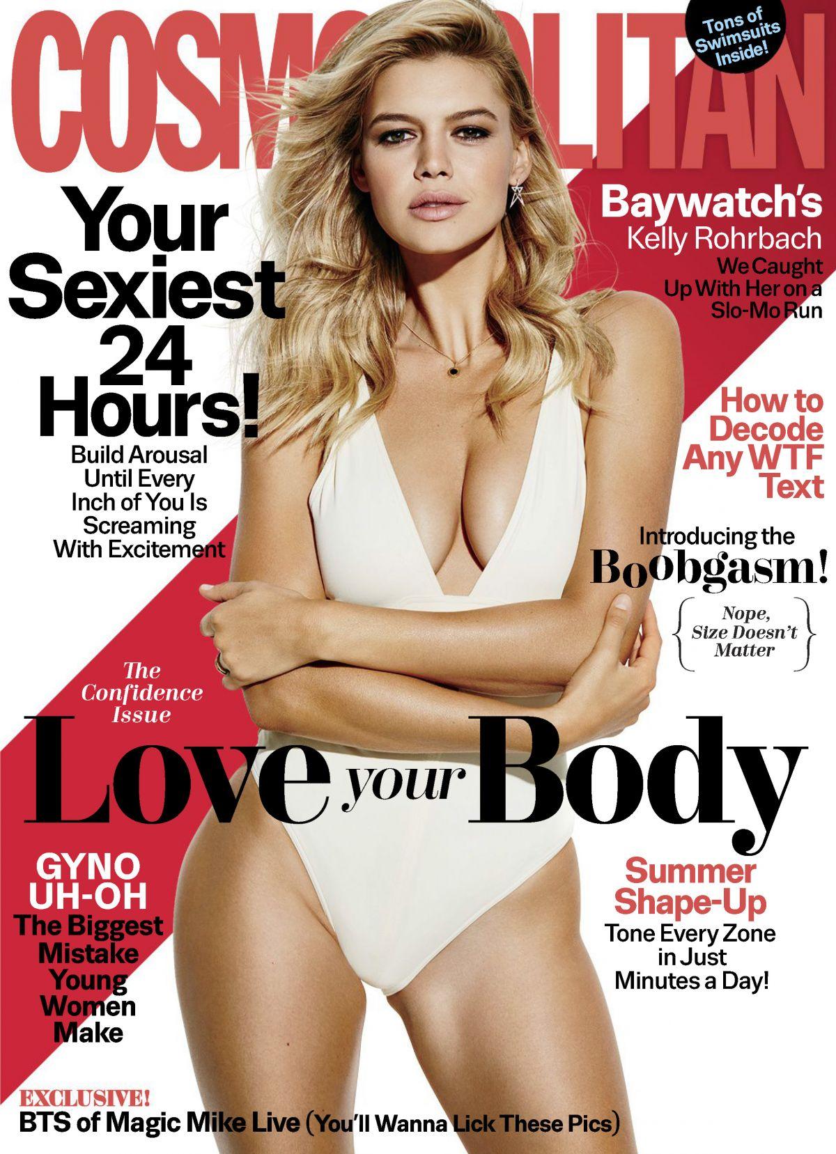 KELLY ROHRBACH in Cosmopolitan Magazine, June 2017 Issue