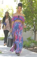 KELLY ROWLAND and MICHELLE WILLIAMS Out in Beverly Hills 05/20/2017