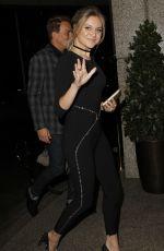 KELSEA BALLERINI Arrives at Her Hotel London 05/10/2017