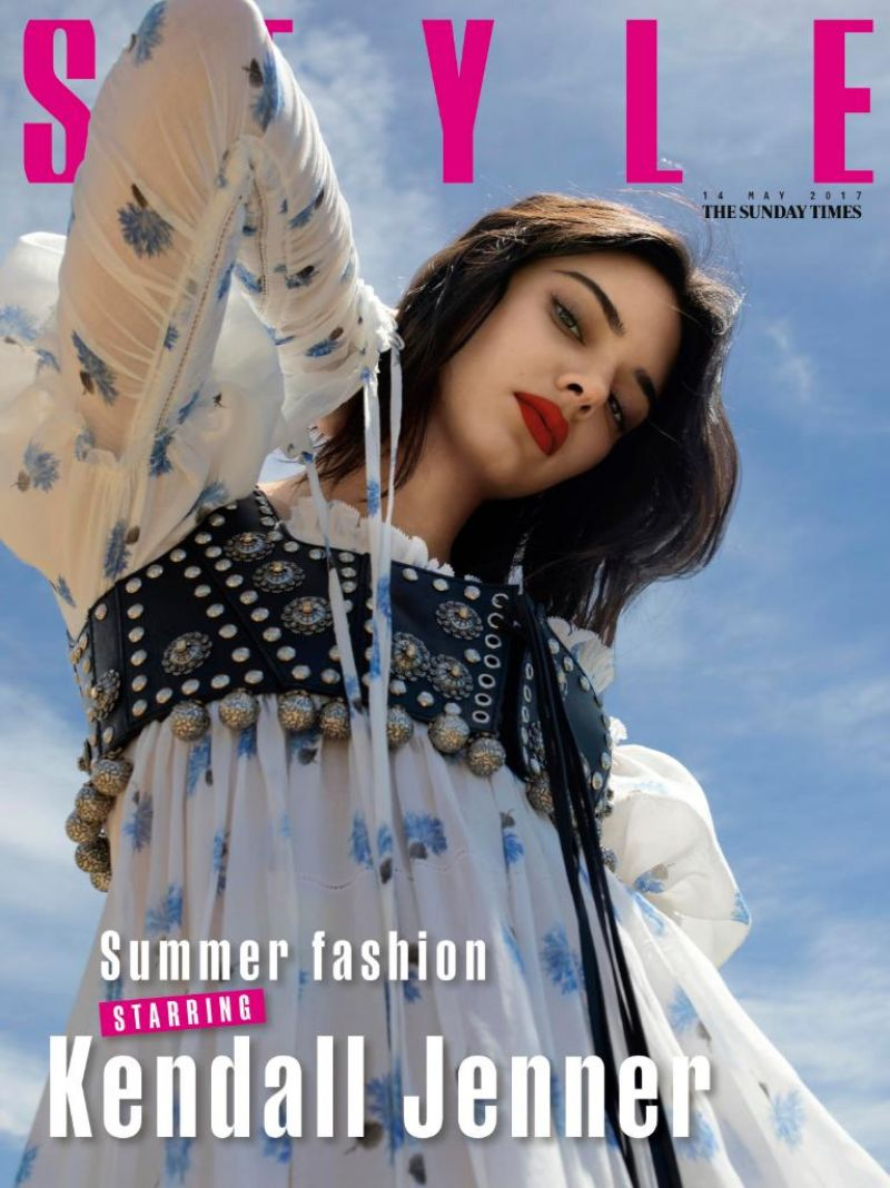 KENDALL JENNER in Sunday Times Style, May 2017