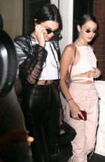 KENDALL JENNER and BELLA HADID Out in New York 04/30/2017
