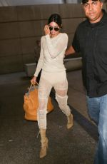 KENDALL JENNER Arrives at LAX Airport in Los Angeles 05/18/2017