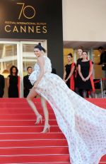 KENDALL JENNER at 120 Beats Per Minute Premiere at 70th Annual Cannes Film Festival 05/20/2017