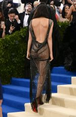 KENDALL JENNER at 2017 MET Gala in New York 05/01/2017