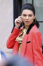 KENDALL JENNER Doing a Photoshoot in Different Locations in New York 05/04/2017