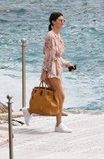 KENDALL JENNER Leaves Eden Roc in Cannes 05/22/2017
