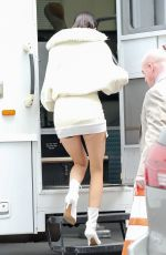 KENDALL JENNER on the Set of a Photoshoot in New York 05/03/2017