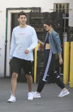 KENDALL JENNER Out for Lunch in Los Angeles 05/15/2017