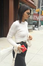 KENDALL JENNER Out Shopping in New York 04/30/2017