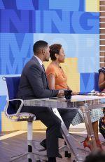KERRY WASHINGTON on the Set of Good Morning America 05/17/2017
