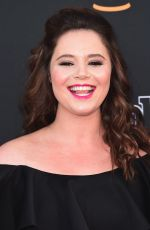 KETHER DONOHUE at 2017 College Television Awards in Los Angeles 05/24/2017