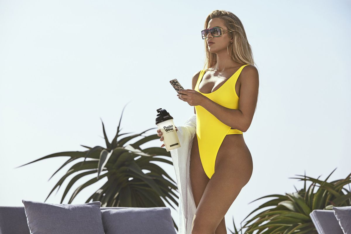 KHLOE KARDASHIAN in Swimsuit for Protein World, May 2017