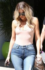 KHLOE KARDASHIAN Leaves a Recording Studio in Calabasas 05/19/2017