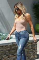 KHLOE KARDASHIAN Leaves E! Studios in Los Angeles 05/19/2017