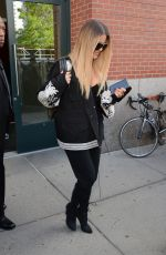 KHLOE KARDASHIAN Out and About in New York 05/16/2017